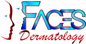 Faces Dermatology logo
